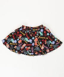 YOKO DOLL MIX柄 ブルマ付きスカート【L】ブラック系その他