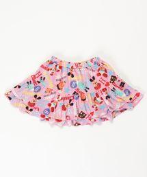 YOKO DOLL MIX柄 ブルマ付きスカート【L】ピンク系その他