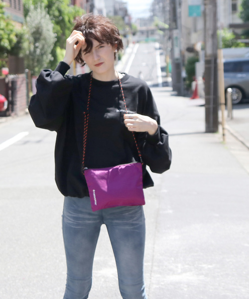 【CONVERSE/コンバース】packable sacoche/パッカブルサコッシュ