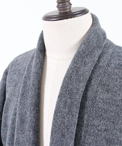 mcg2296-Easy Long Knit sew Cardigan カーディガン(MADE IN JAPAN)