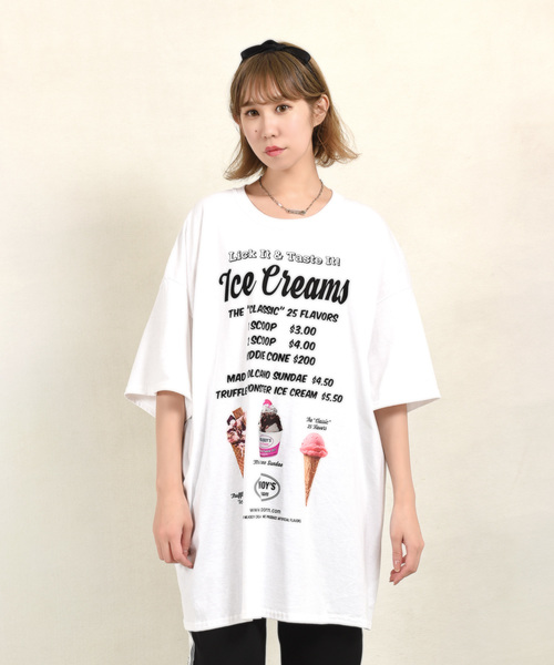 【MILKBOY】ICE CREAMS Tシャツ