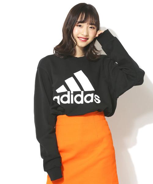 【adidas / アディダス】スポーツパフォーマンスロゴプリントスウェット