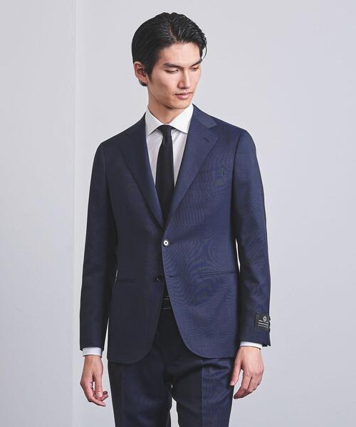 <UNITED ARROWS> タスマニア ピンチェック 3B スーツ