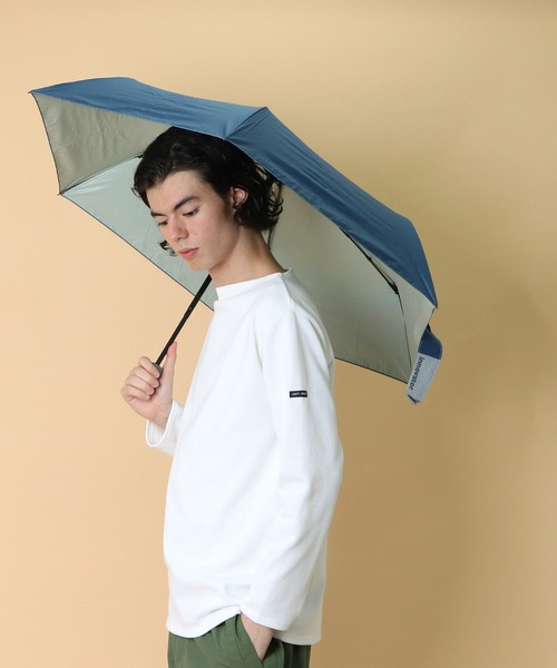 【 innovator / イノベーター 】 晴雨兼用折りたたみ傘 日傘 60㎝ IN-60M OGW・・
