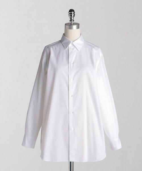 <LOEFF(ロエフ)> コットンブロード レギュラーシャツ ルーズフィット