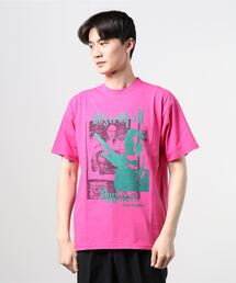 DESTROY ALL MONSTERS/DOPPELGANGER Tシャツピンク