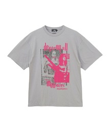 DESTROY ALL MONSTERS/DOPPELGANGER Tシャツグレー