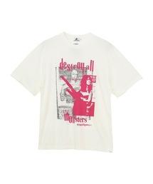 DESTROY ALL MONSTERS/DOPPELGANGER Tシャツホワイト