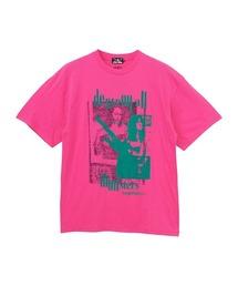 DESTROY ALL MONSTERS/DOPPELGANGER Tシャツピンク