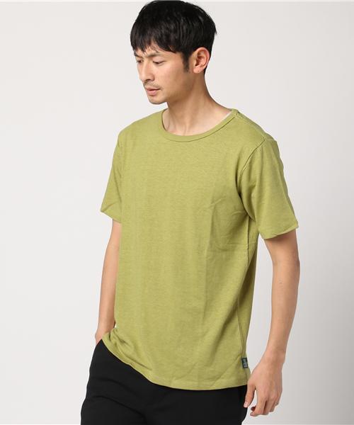 BASIC S/SL TEE / べーシックショートスリーブヘンプティーシャツ