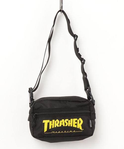 【THRASHER/スラッシャー 】ショルダーバッグ