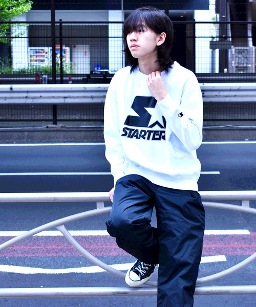 【STARTER BLACK LABEL】BASIC STARTER PULLOVER