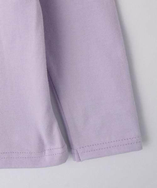 【150cmまで】ランダムハートプリント長袖Tシャツ