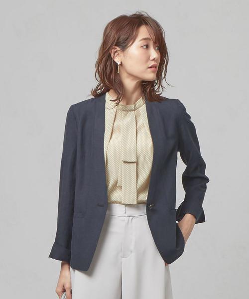 <closet story>SE/LI カラーレス 1Bジャケット