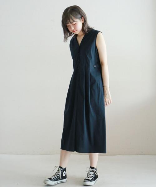 素敵な ブロードストレッチ タックロングワンピース(ワンピース)|NOMBRE NOMBRE IMPAIR(ノンブルアンペール)のファッション通販, 美脚パンツのANIMAS japan:c1a539f1 --- blog.buypower.ng
