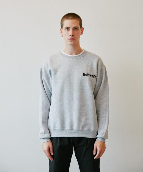 ROTTWEILER(ロットワイラー)の「Logo Sweater(スウェット)」 グレー