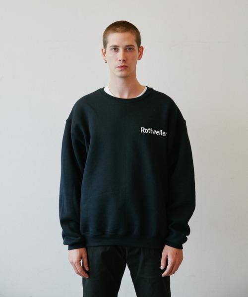 ROTTWEILER(ロットワイラー)の「Logo Sweater(スウェット)」 ブラック