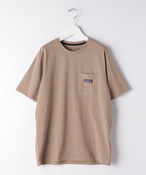 [ パタゴニア ] patagonia P-6 ロゴ ポケット Tシャツ ポケT