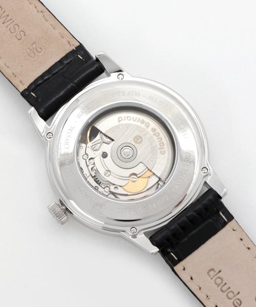CLAUDE BERNARD Classic Automatic Open Heart/クラシック オートマティック オープンハート 腕時計 850173NIN メンズ