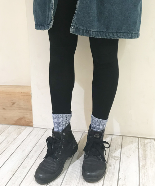 Born(ボーン)の「Born Bare Jersey Full Length Leggings/ボーンベアジャージフルレングスレギンス(レギンス/スパッツ)」|ブラック