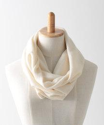 8863e3a497343 Jubilee Fabric(ジュビリーファブリック)の「100%ピュアカシミヤ スヌード(ストール
