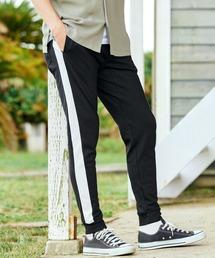BARK MANHATTAN(バークマンハッタン)のジョガー スウェットパンツ / ラインパンツ  メンズ スエット スリム リブ 細身(パンツ)