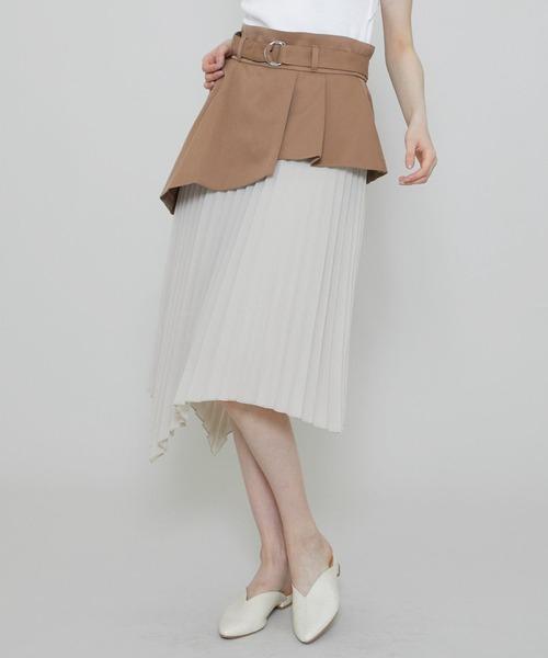 信頼 【セール】【STUDIOUS】 アシメトリーレイヤードプリーツスカート(スカート)|STUDIOUS(ステュディオス)のファッション通販, リンナイスタイル:1d4e02d3 --- pyme.pe