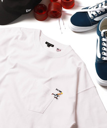 FREAK'S STORE(フリークスストア)のWEB限定 SKATE ワンポイント刺繍 半袖Tシャツ(Tシャツ/カットソー)