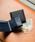 MURA(ムラ)の「コードバン調/カーボン レザー box型小銭入れ 二つ折り財布(財布)」|詳細画像