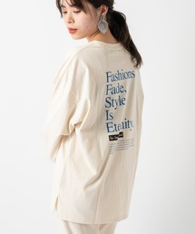 Kastane(カスタネ)のSIXSENCE FASHION ロンT BLU(Tシャツ/カットソー)