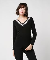 Guess(ゲス)のCONNIE LOGO PRINT TOP(その他トップス)