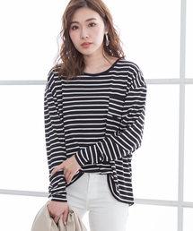 夢展望(ユメテンボウ)のバックジップ長袖Tシャツ(Tシャツ/カットソー)