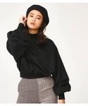 SLY | VOLUME TUCK SLEEVE TOPS(Tシャツ・カットソー)