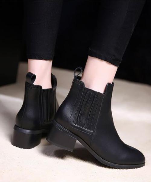 【chuclla】サイドゴア ブーツ ショートブーツ