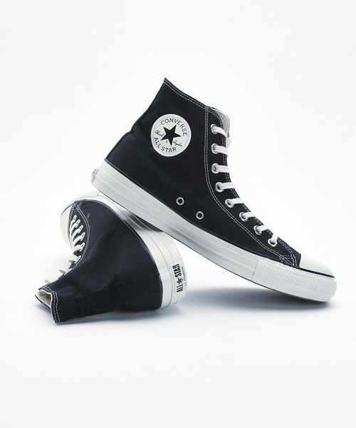 CONVERSE(コンバース)の「【CONVERSE STARS別注】ALL STAR HI / CS ブラック 2019AW (22.5cm~25.5cmサイズ)/U.S. ORIGINATOR(スニーカー)」 ブラック