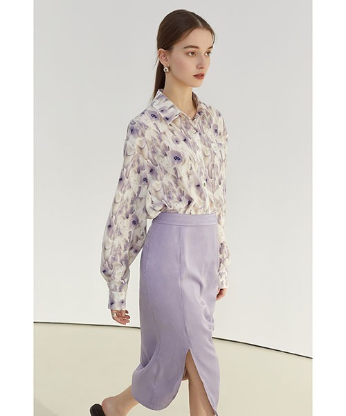 【Fano Studios】【2021SS】Oversized floral print shirt FC21S124