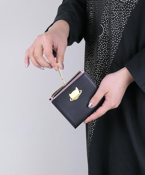 【 新品 】 ネコプラネット 折財布(財布)|tsumori chisato CARRY(ツモリチサトキャリー)のファッション通販, シレーナ:4d8d3f7c --- crypto2020.com