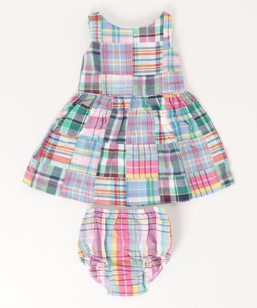 パッチワーク ドレス&ブルマー