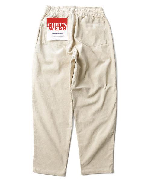 FREAK'S STORE(フリークスストア)の「【ユニセックスでオススメ!/13色展開】WEB限定 シェフパンツ/バギーパンツ/chef pants/ビッグシルエットパンツ/ツイル/コーデュロイ/ペイズリー/(パンツ)」 オフホワイト