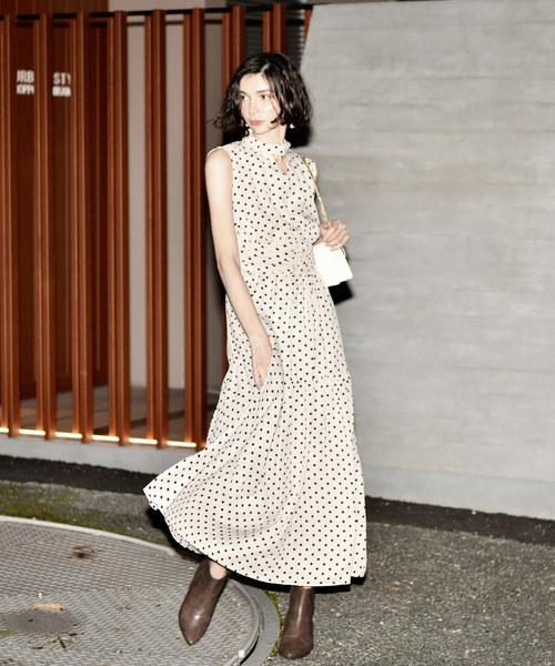人気が高い hight neck dot dot neck dress(ワンピース) My|My shawty(マイシャウティー)のファッション通販, coco natural(ココナチュラル):4dfd0744 --- tsuburaya.azurewebsites.net