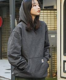 carhartt(カーハート)  M MW Hooded Sweatshirt オーバーサイズ プルオーバーパーカーグレー系その他