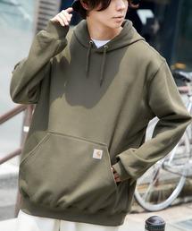 carhartt(カーハート)  M MW Hooded Sweatshirt オーバーサイズ プルオーバーパーカーグリーン系その他