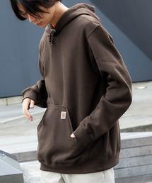 carhartt(カーハート)  M MW Hooded Sweatshirt オーバーサイズ プルオーバーパーカーブラウン