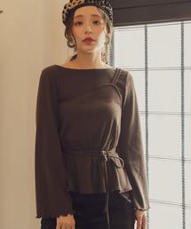 mysty woman(ミスティウーマン)の起毛テレコキャミソールインナー 859415(Tシャツ/カットソー)