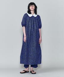 <6(ROKU)>DOBBY FLOWER PRINT DRESS/ワンピース