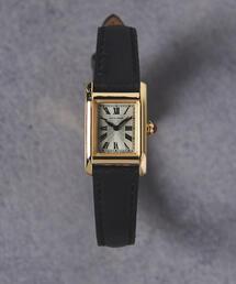 UNITED ARROWS(ユナイテッドアローズ)のUBBT スクエア レザーベルト 時計(腕時計)