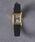 UNITED ARROWS(ユナイテッドアローズ)の「UBBT スクエア レザーベルト 腕時計�@†(腕時計)」|イエロー
