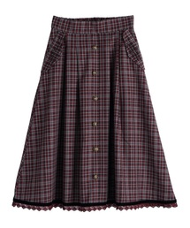 axes femme(アクシーズファム)のタータンチェックスカート(スカート)