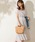 natural couture(ナチュラルクチュール)の「前後2WAYカシュクールプリーツワンピース(ワンピース)」|ラベンダー