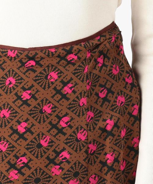 TOMORROWLAND(トゥモローランド)の「【別注】ne Quittez pas BLACK×TOMORROWLAND バックジップロングスカート(スカート)」|詳細画像